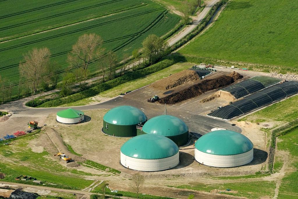 Biogas Gewinnung