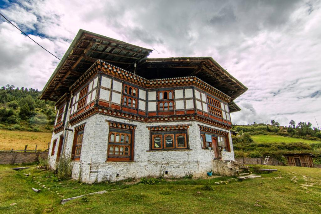 Bhutan Gebäude