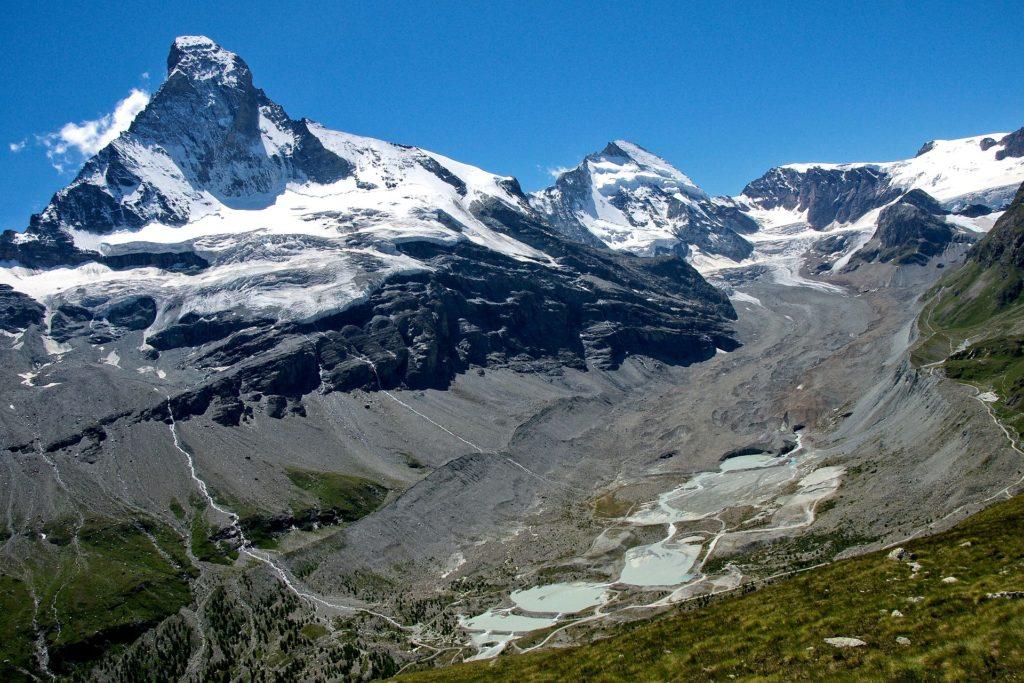 Gebirge in der Schweiz
