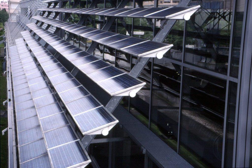 Photovoltaik Wand