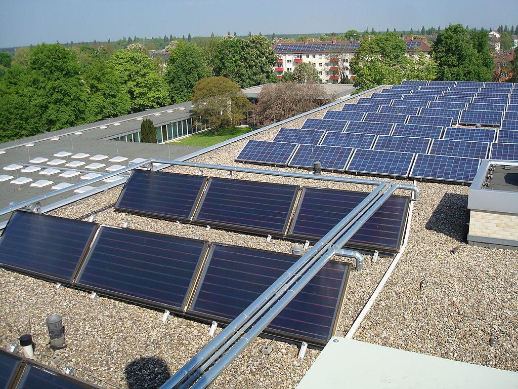 Solarmodul Dach