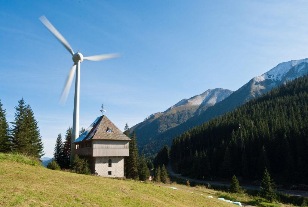 Windkraftwerk Berge