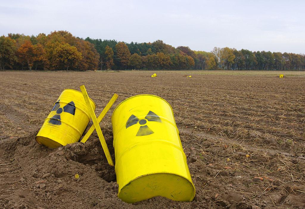 Atommüll im Fass