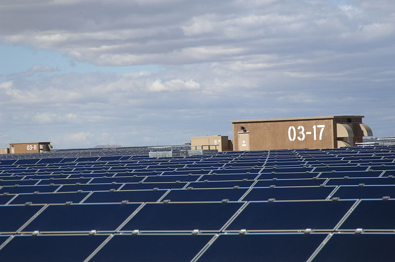 Solaranlage Kalifornien